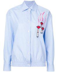 Valentino - Applique Detail Shirt - Lyst
