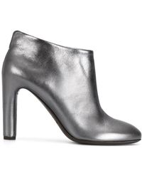Roberto Del Carlo - Metallic (grey) Heeled Shoes - Lyst