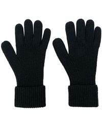 N.Peal Cashmere - Gerippte Handschuhe aus Kaschmir - Lyst
