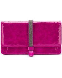 Fabiana Filippi - Embellished Strap Wallet - Lyst