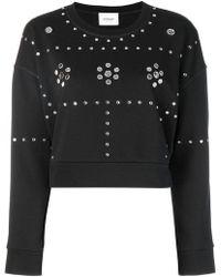 Dondup - Studded Sweatshirt - Lyst