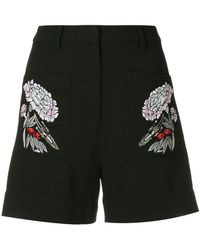 Markus Lupfer - Floral Embroidered Shorts - Lyst