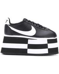 Comme des Garçons - Zapatillas con plataforma Comme des Garcons x Nike - Lyst
