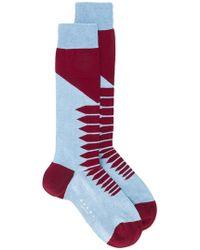 Marni - Geometric Print Socks - Lyst