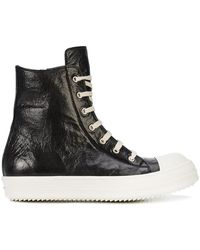 Rick Owens - High Ramone Sneakers - Lyst