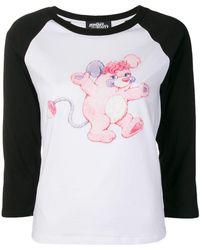 Jeremy Scott - Contrast Sleeve Sweatshirt - Lyst
