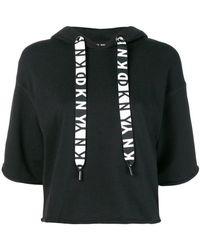 DKNY - Short-sleeve Hoodie - Lyst