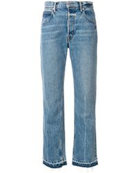 Helmut Lang - Cropped Jeans - Lyst