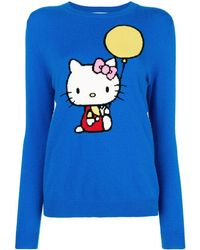 96f5b30b7 Chinti & Parker X Hello Kitty® Apple Graphic Intarsia Cashmere-wool Sweater  - Lyst