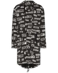 Moschino - Newspaper Print Parka - Lyst