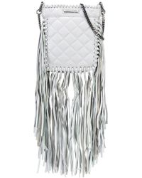 Thomas Wylde - Fringed Quilted Crossbody - Lyst