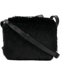 Robert Clergerie - Double Zip Crossbody Bag - Lyst