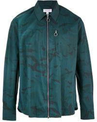 Soulland | Camouflage Zip Jacket | Lyst