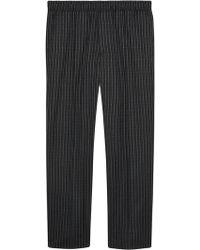 Gucci - Pinstripe jogging Trousers - Lyst