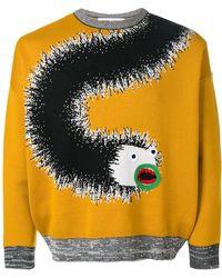Henrik Vibskov - Applique Detail Printed Sweatshirt - Lyst