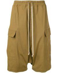 Rick Owens - Pantalones cortos con cinturilla elástica - Lyst