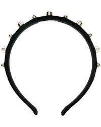 RED Valentino - Stud Embellished Hairband - Lyst