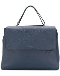 Orciani - Foldover Top Tote Bag - Lyst