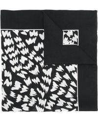 Dolce & Gabbana - Abstract Print Bandana Scarf - Lyst