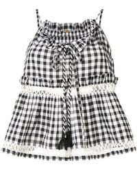 Dodo Bar Or - Patricia Gingham Top - Lyst