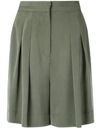 Andrea Marques - Pleated Shorts - Lyst