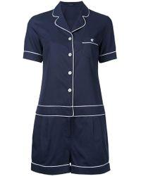 Loveless - Pyjama Playsuit - Lyst