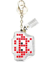 Anya Hindmarch - 'space Invader' Keyring - Lyst