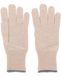 Brunello Cucinelli - Handschuhe aus Kaschmir - Lyst