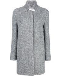 Closed - Classic Fitted Cardi-coat - Lyst