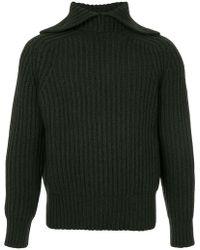 Cerruti 1881 - Jersey con cuello con doblez - Lyst