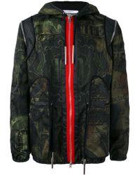Givenchy - Dollar Print Hooded Jacket - Lyst