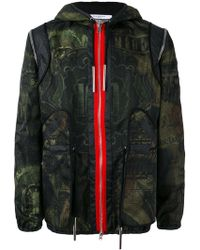 Givenchy - Dollar Print Hooded Jacket - Lyst