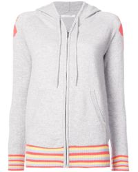 Chinti & Parker - Zip Front Hoodie - Lyst