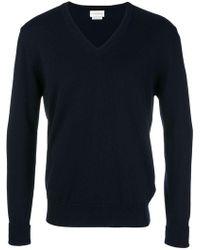 Ballantyne - V-neck Knitted Sweatshirt - Lyst