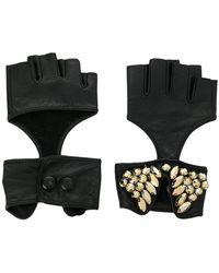 Karl Lagerfeld - Fingerless Party Gloves - Lyst