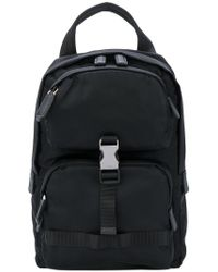 Prada - Nylon Crossbody Backpack - Lyst
