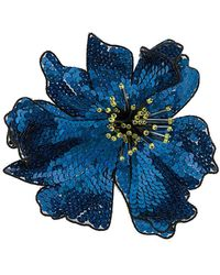 Christopher Kane - Sequin Flower Brooch - Lyst