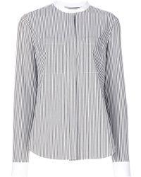 MICHAEL Michael Kors - Oversized Striped Shirt - Lyst