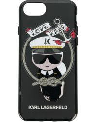 Karl Lagerfeld - Karl Sailor Iphone Case - Lyst