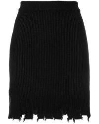 FEDERICA TOSI - Asymmetric Draped Skirt - Lyst