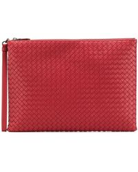 Bottega Veneta - Baccara Woven Briefcase - Lyst