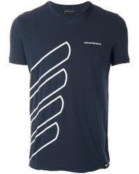 Emporio Armani | Cotton T-shirt | Lyst