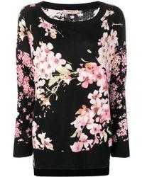 Twin Set - Blossom Knit Jumper - Lyst