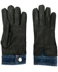 DSquared² - Denim Insert Gloves - Lyst