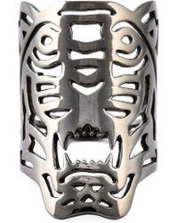 KENZO - Big 'tiger' Ring - Lyst