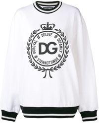 Dolce & Gabbana Sudadera Con Estampado