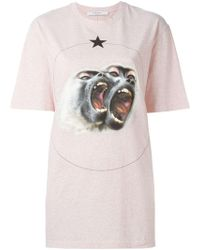 Givenchy - Monkey Brothers Printed T-shirt - Lyst