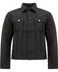 Yang Li - Matte Button Denim Jacket - Lyst