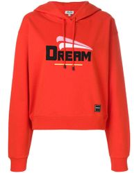 KENZO | Dream Embroidered Hoodie | Lyst