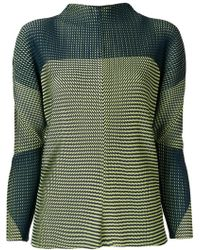 Issey Miyake - Relaxed Fit Plated Sweatshirt - Lyst